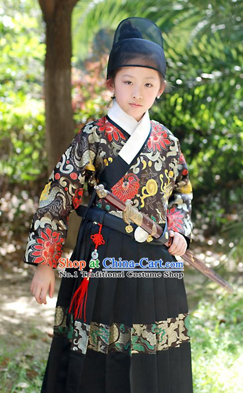 Ancient Korean Bodyguard Costumes Set