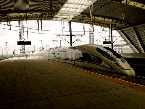The high-speed trains of China