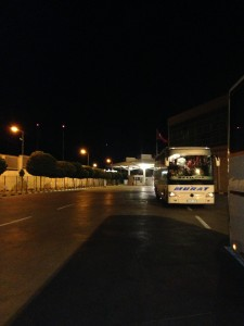 Border Crossing at Capitan Andreevo