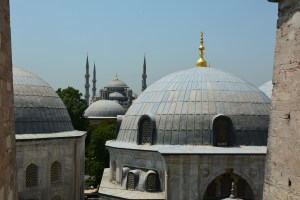 Hagia Sophia to Blue Mosque