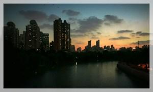 China, Shanghai, Sunset