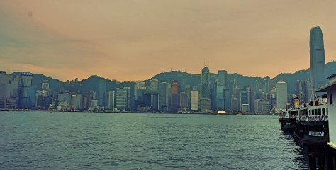 China, Hong Kong, Skyline