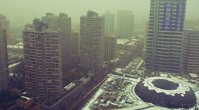 Shanghai – More Snow, More Cold