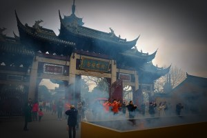 China, Shanghai, Chinese New Year, Longhua temple