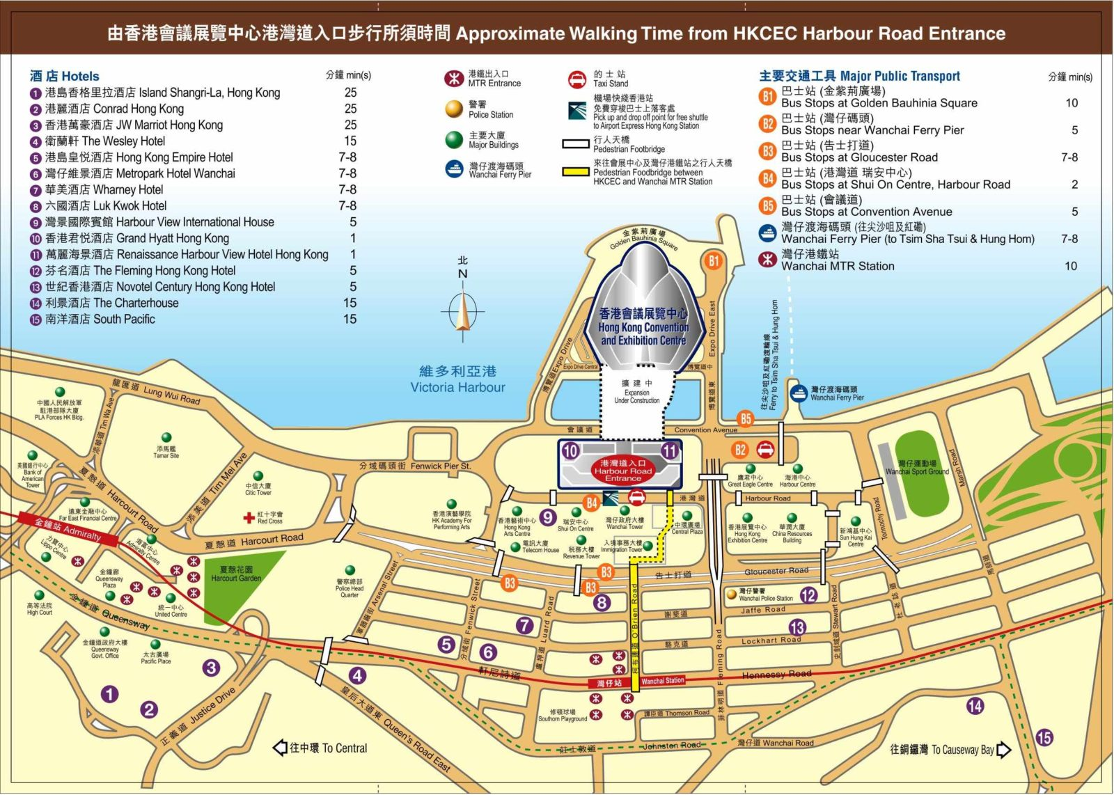 Hong Kong Convention And Exhibition Center Maps