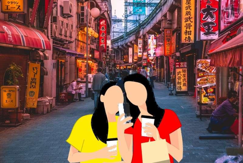 Einkaufen bei chinesischen Import Geschäften