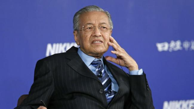 马来西亚变脸  取消与中国签订的项目