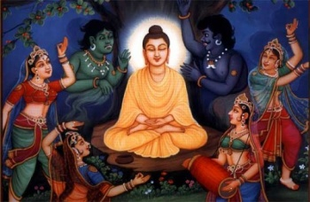 Image result for mara buddha