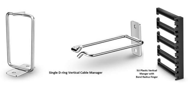 Vertical Cable Management Managers