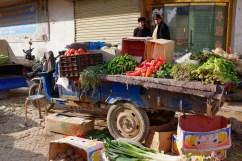 Markt Gemüse Kashgar