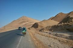 Immer der Wüste entgegen.