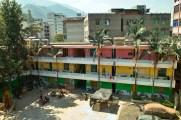 Unser Dormitory in der alten Grundschule.