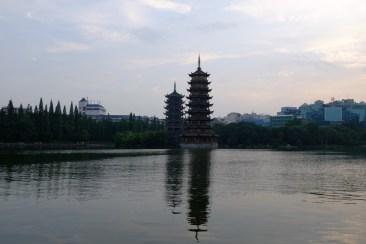 Die Pagoden von Guilin