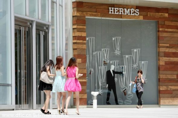 Image result for chinese lady with Hermès