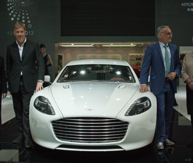 China Launch Of Aston Martin Rapide S At Shanghai Auto Show