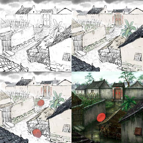 Chinese-style origins give vitality to domestic animation