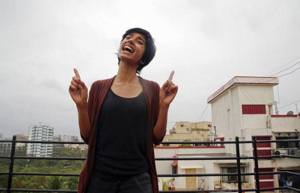 Rapper Sofia Ashraf Demonstrates Her Skills In Mumbai