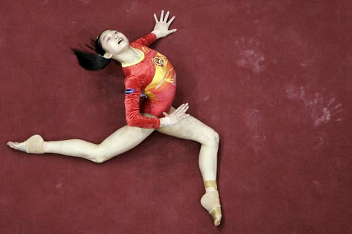 Jiang Yuyuan won the Good Luck Beijing International Invitational.