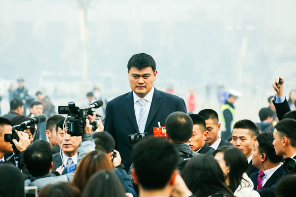 Yao, O'Neal introduced into Hall of Fame