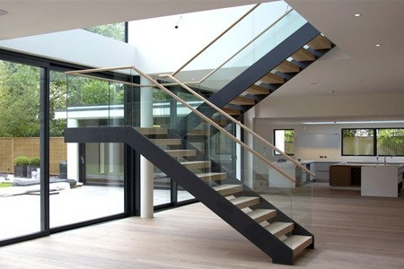 U Shaped Staircase Demax Arch   Modern U Shaped Staircase   Design   Floating   Interior   Amazing Modern   Oval Shaped