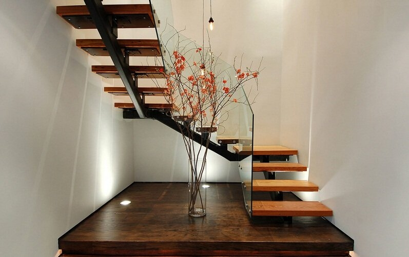 Demax Professional Staircase And Railing Manufacturer   Steel Staircase Designs For Homes   New Model   Inside   Railing   Balcony   Unique