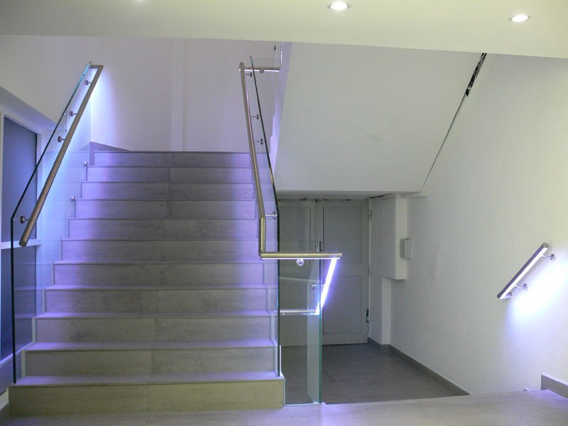Stair Handrail Post