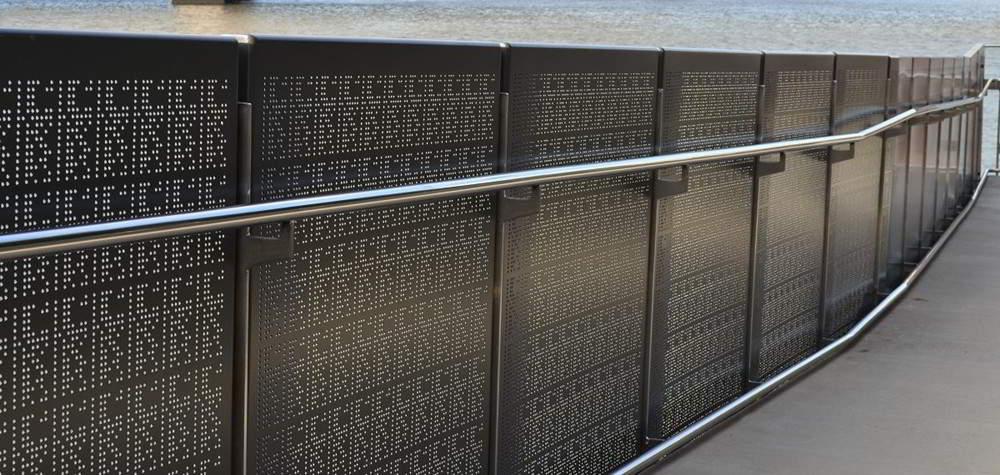 Metal Deck Railing Systems