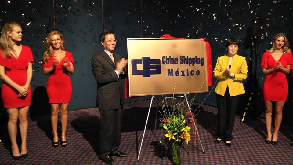 China Shipping Group abren nuevas oficinas en México