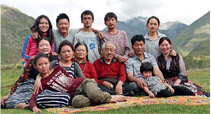 Lecciones de una familia tibetana