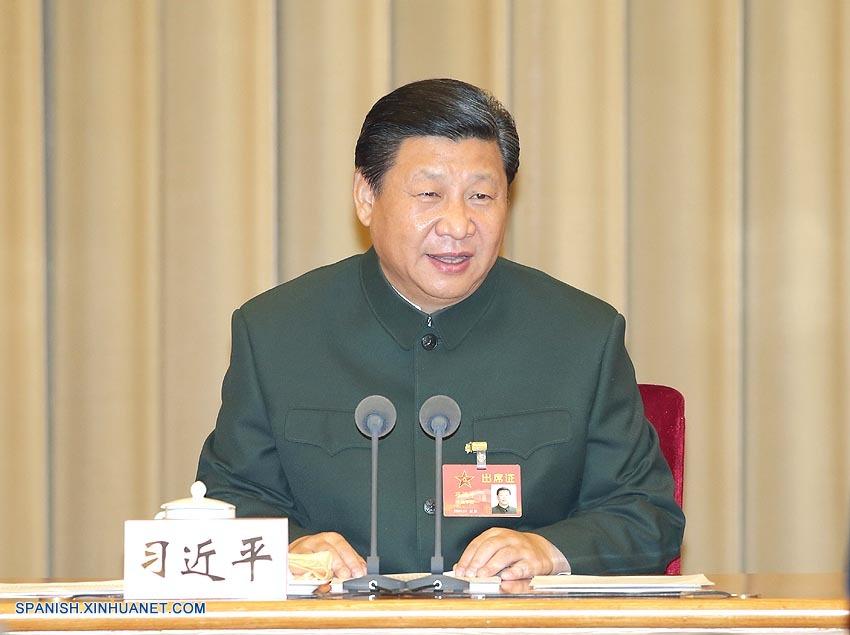 Xi Jinping urge reforma estructural de fuerzas armadas