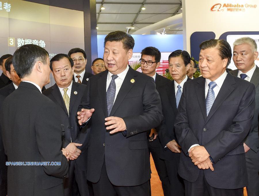 Presidente chino pide innovación en la era de internet