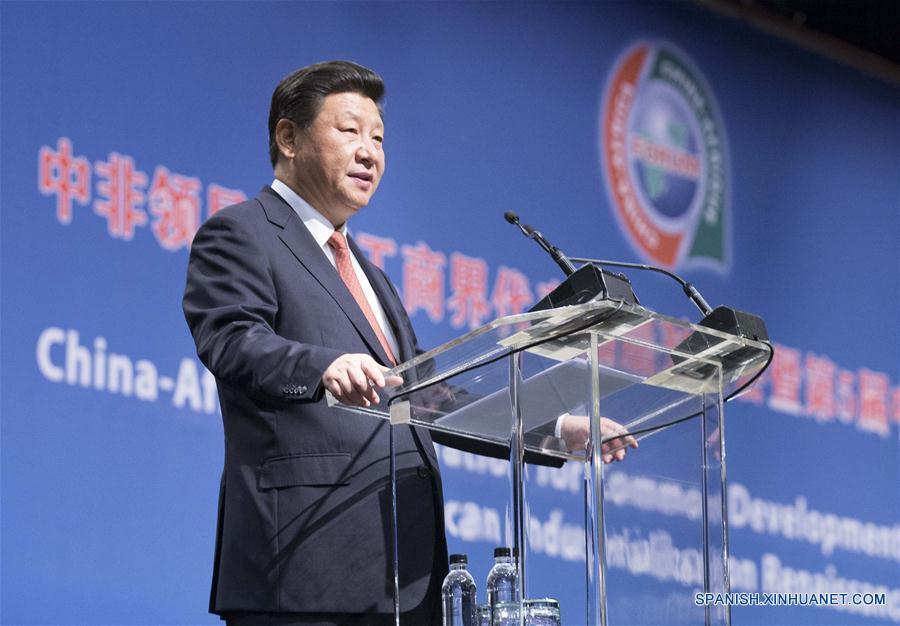 Xi plantea propuesta de cinco puntos para impulsar cooperación entre China y Africa