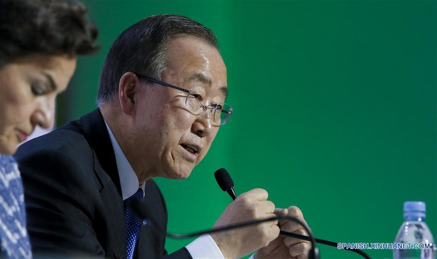 Jefe de ONU pide emular ejemplo chino para enfrentar cambio climático
