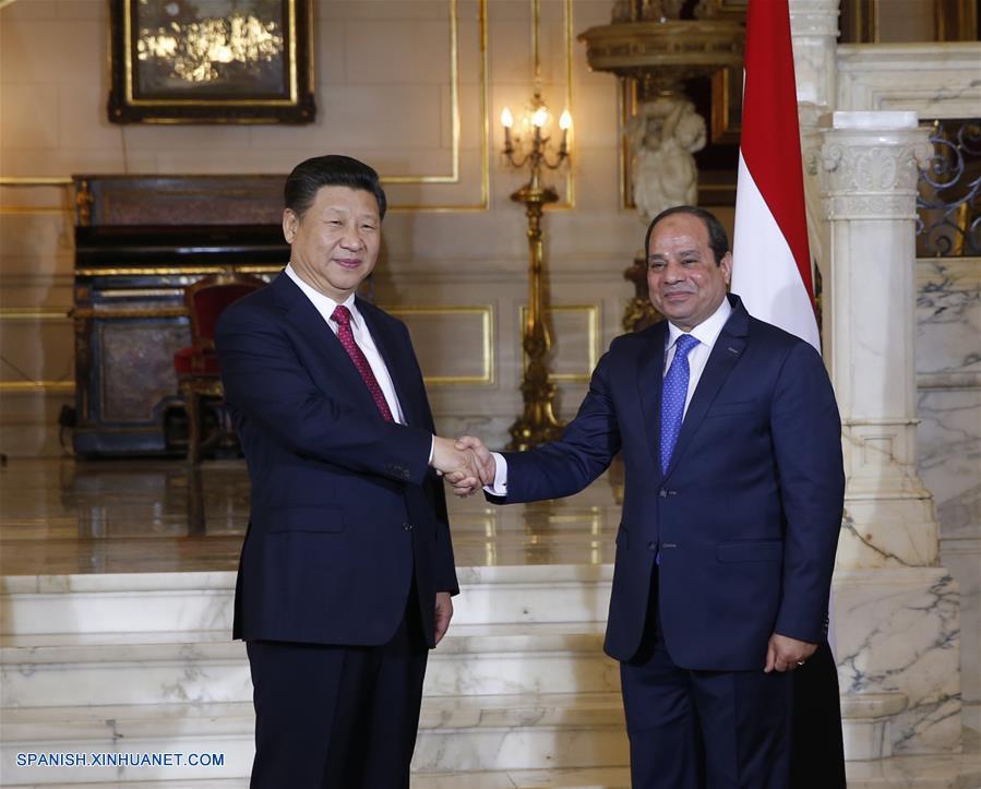 China y Egipto acuerdan impulsar cooperación dentro de iniciativa de Franja y Ruta