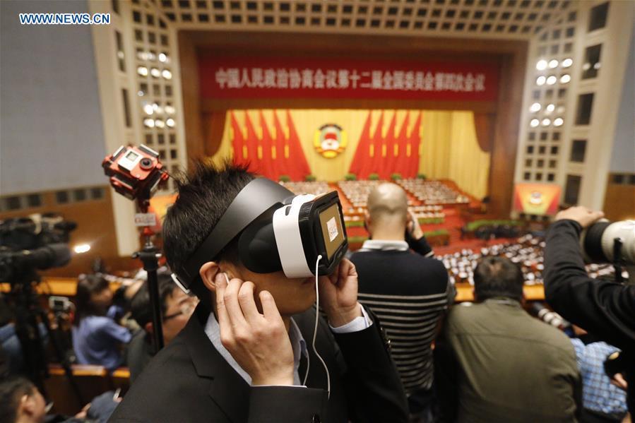 Alto líder chino considera productiva cobertura mediática de sesión anual de asesores