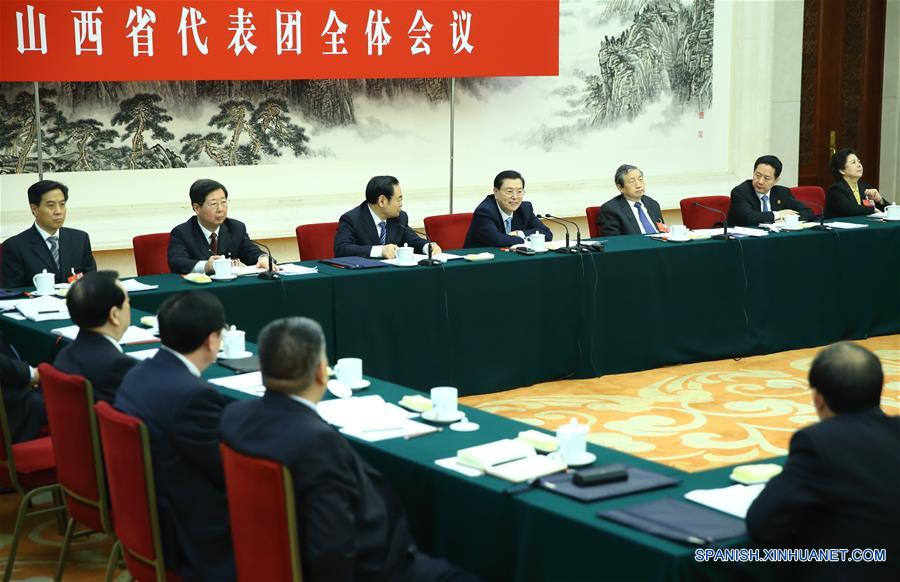 Máximo legislador chino promete lealtad a PCCh
