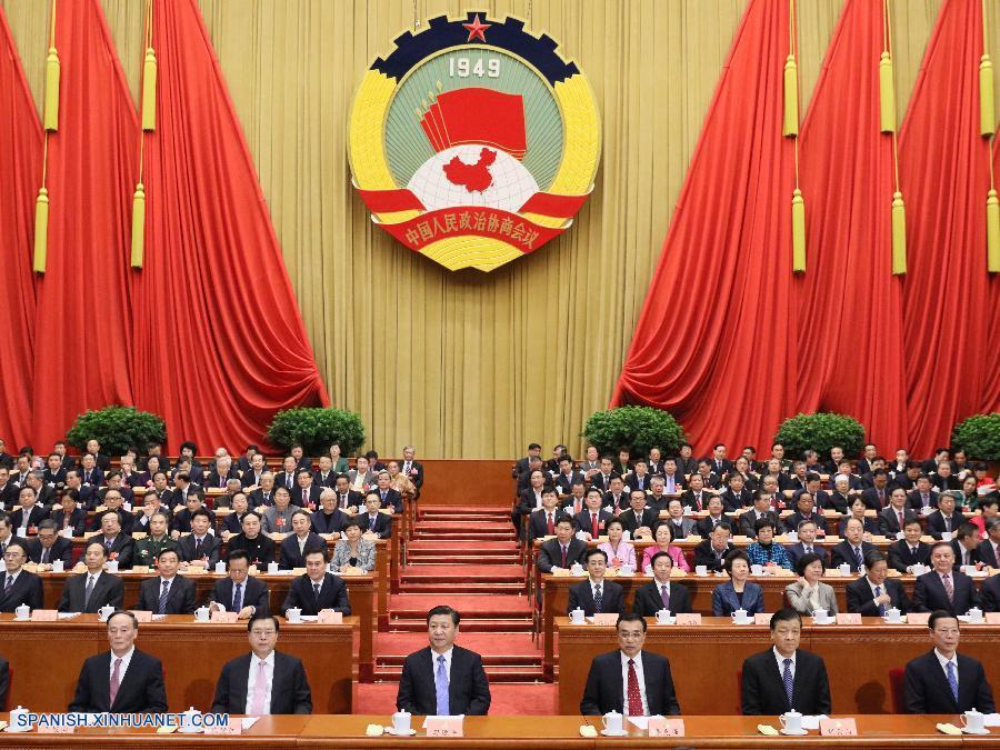 Máximo órgano de asesoría política de China concluye sesión anual