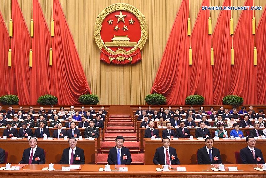 Máximo órgano legislativo de China concluye sesión anual