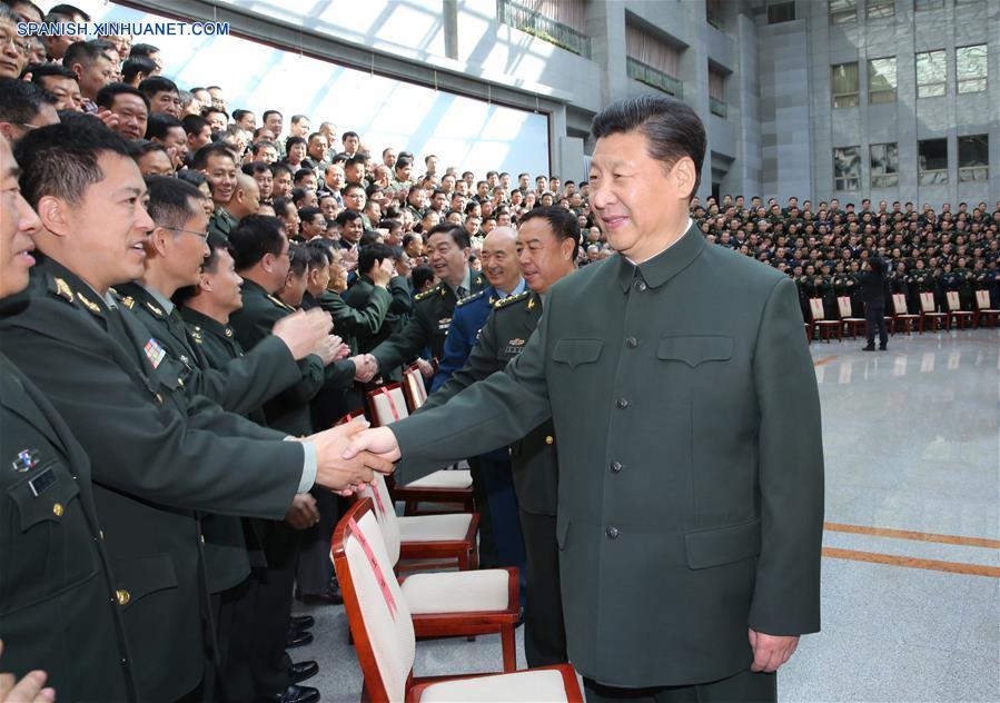 Presidente chino subraya importancia de efectividad de combate en academia militar