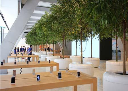 Apple abre segunda tienda en ciudad norteña china de Tianjin
