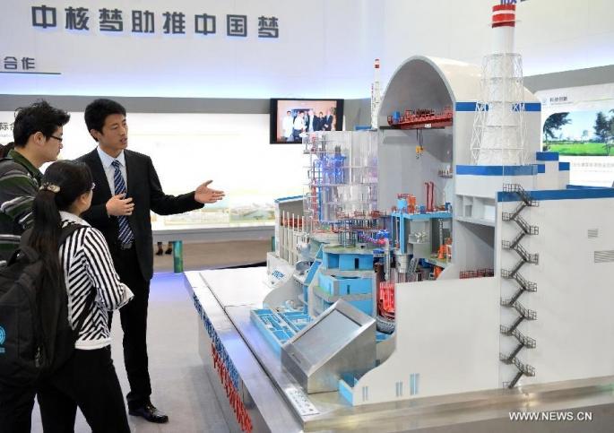 Instalan componente clave de nueva central nuclear en este de China