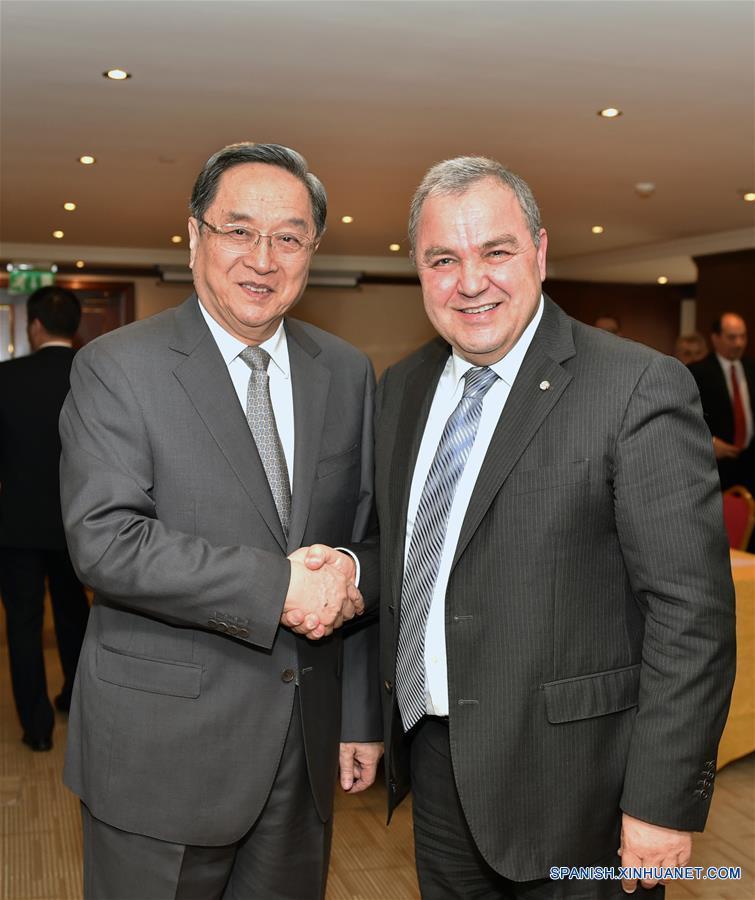 Máximo asesor político chino conversa con presidente parlamentario maltés