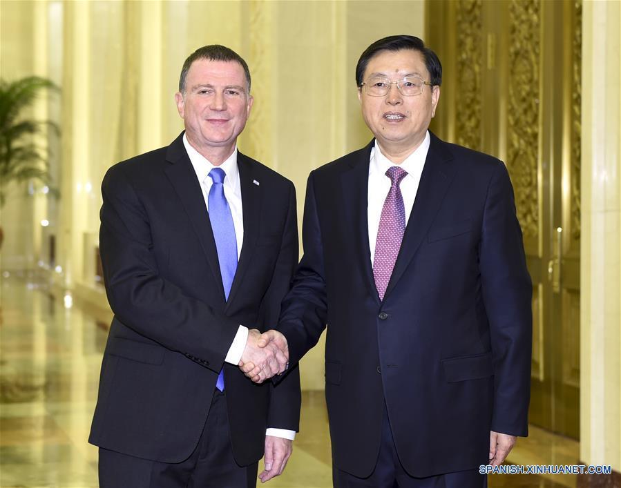 China e Israel promoverán intercambios parlamentarios