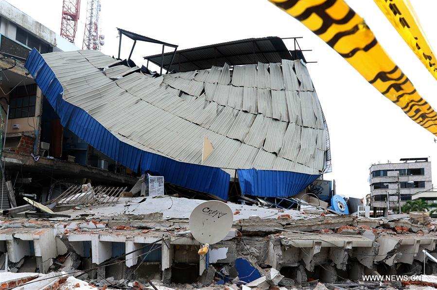 ESPECIAL: Tecnología china ayuda a salvar vidas tras sismo en Ecuador