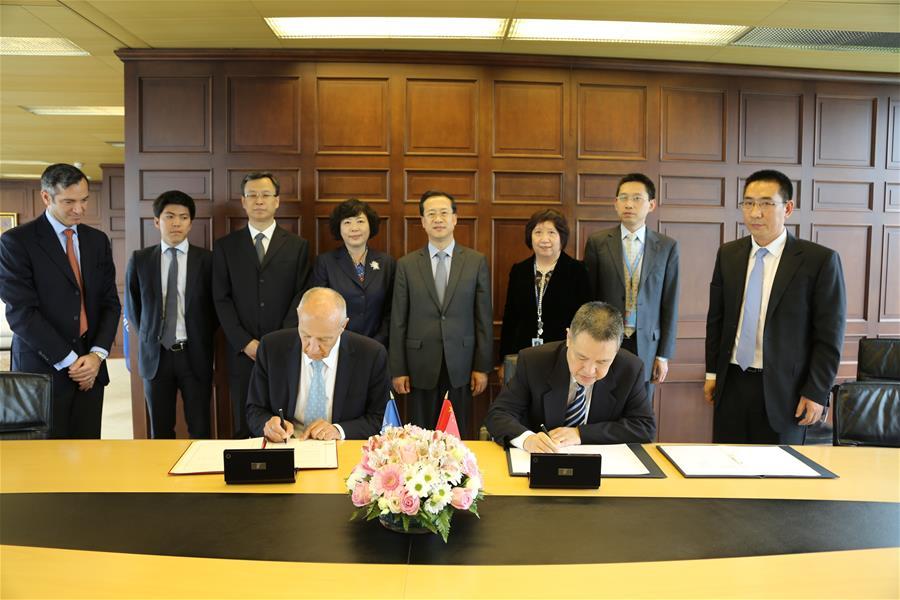 China y OMPI firman nuevo acuerdo para ampliar cooperación en propiedad intelectual