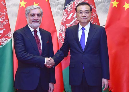 China promete apoyo para reconciliación y construcción de Afganistán