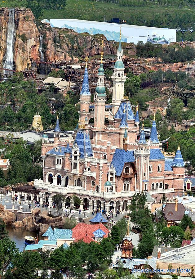 Shanghai Disneyland agendado para abrir el 16 de junio