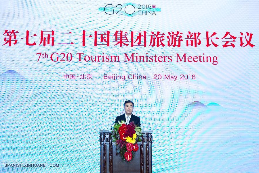 G20 debe ampliar mercado global de turismo, pide viceprimer ministro chino
