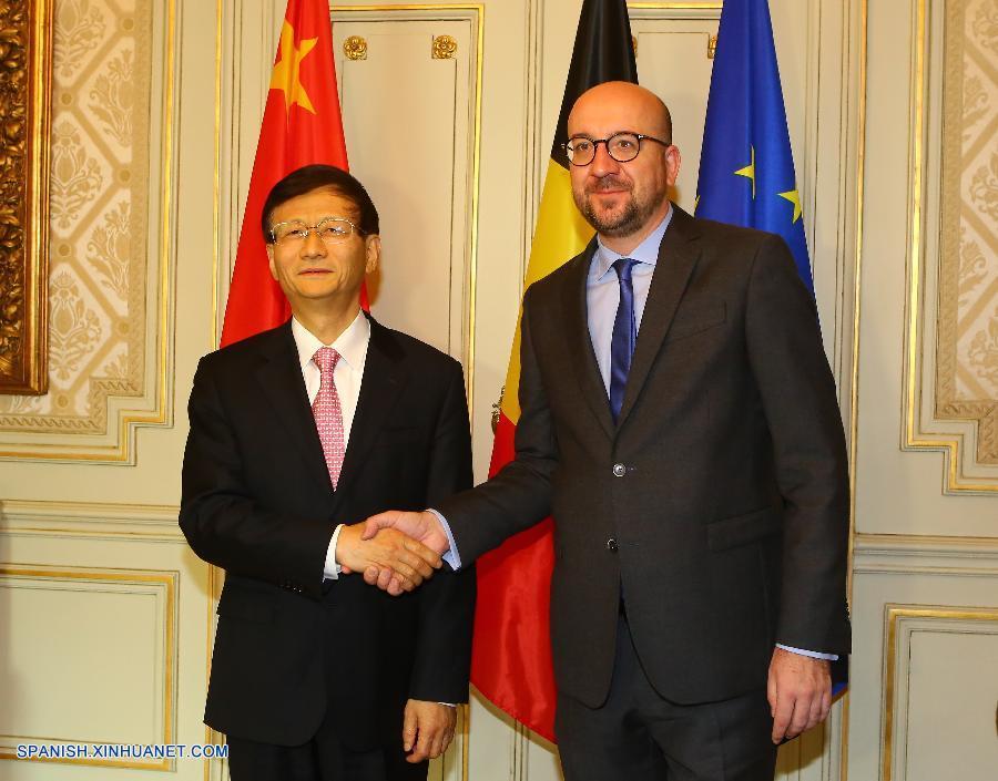 Enviado de presidente chino se reúne con PM belga para ampliar lazos bilaterales