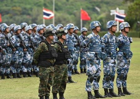 China y Tailandia realiza ejercicio militar conjunto